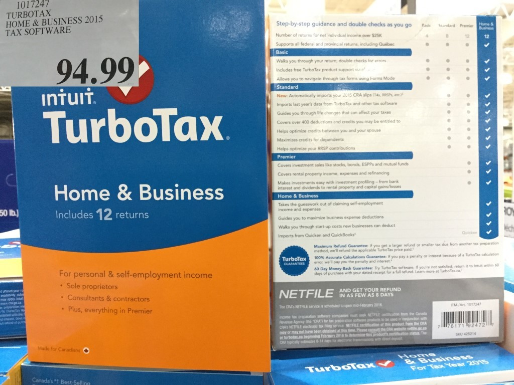Costco And Turbotax