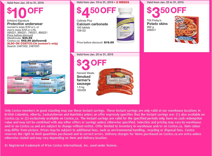 West Costco Sales Items January 25-31 - Costco West Fan Blog