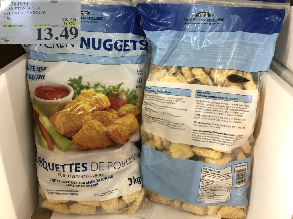 Organic Chicken Nuggets Costco