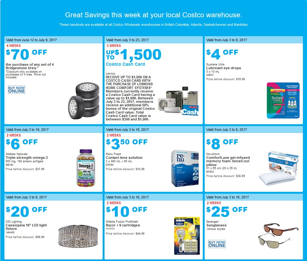 0463cf3dee7 Costco West Sales Items for July 3-9 for BC