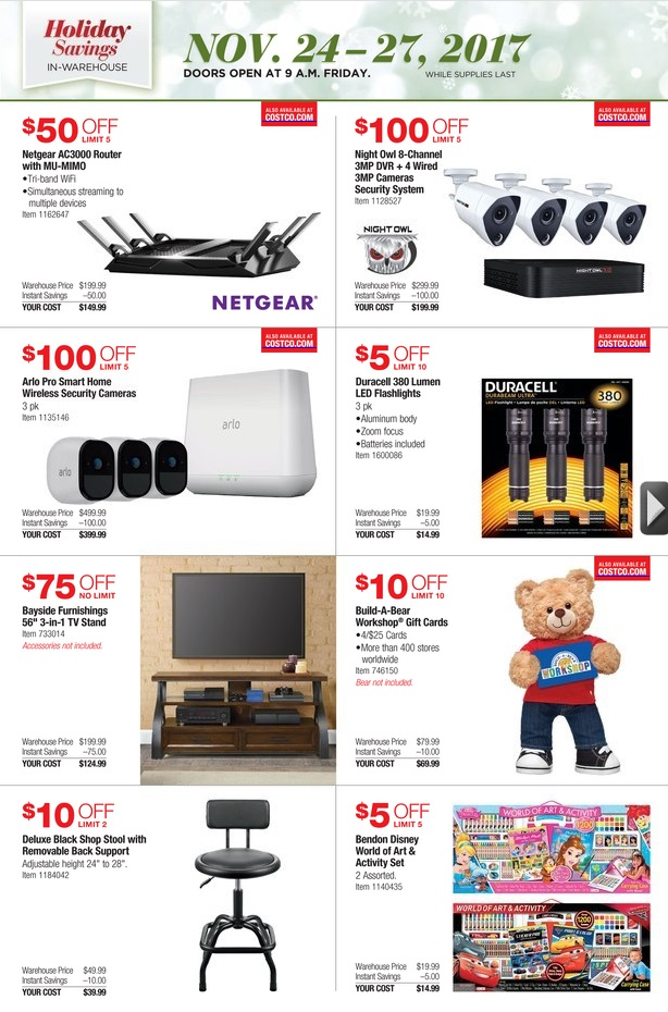 Costco USA ONLY - Holiday Savings! - Costco West Fan Blog