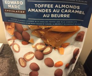 Costco Edward Marc Milk Chocolate Toffee Covered Almonds