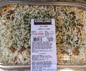 Costco Kirkland Signature Meat Lasagna