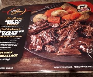 Costco 44th Street Entree Slow Braised Beef Pot Roast in Rich Gravy