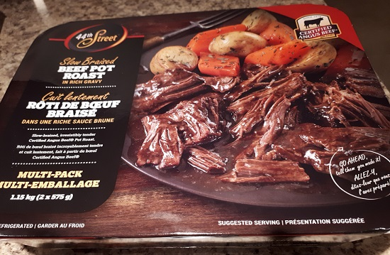 Costco 44th Street Slow Braised Beef Pot Roast in Rich Gravy