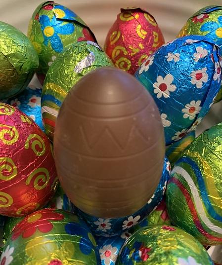 Jacquot Milk Chocolate Hollow Eggs