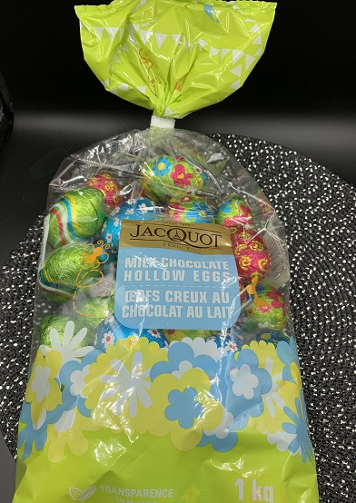 Jacquot Milk Chocolate Hollow Eggs