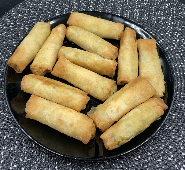 Costco Sum-m! Crispy Mini Chicken Spring Rolls