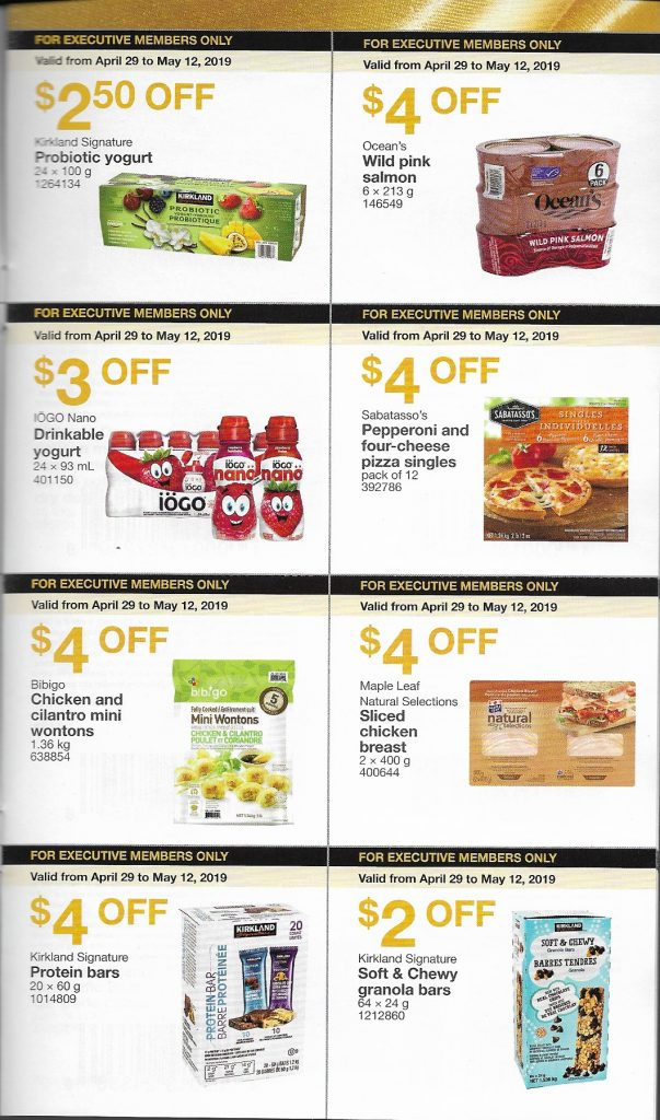 11e228420f4 Costco Executive Coupons: April 29 to May 12, 2019 - Costco West Fan ...