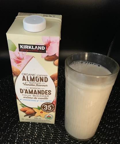 Costco Kirkland Signature Organic Fortified Vanilla Almond