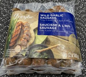 Costco Freybe WIld Garlic Turkey & Chicken Sausage