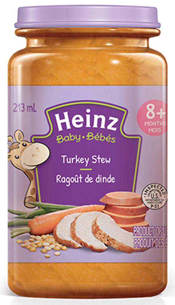 RECALL ALERT: Heinz Turkey Stew baby food & Whalen Counter