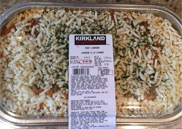 Costco Kirkland Signature Meat Lasagna Review Costco West