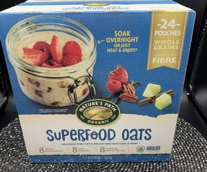 Costco Nature's Path Organic SuperFood Oats