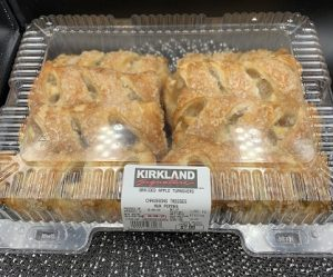 Kirkland Signature Braided Apple Turnover