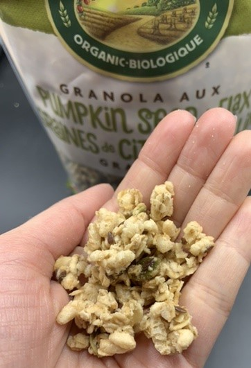 Nature's Path Organic Pumpkin Seed & Flax Granola