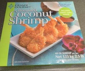 Costco P.S.I's Grande Gourmet Breaded Coconut Shrimp
