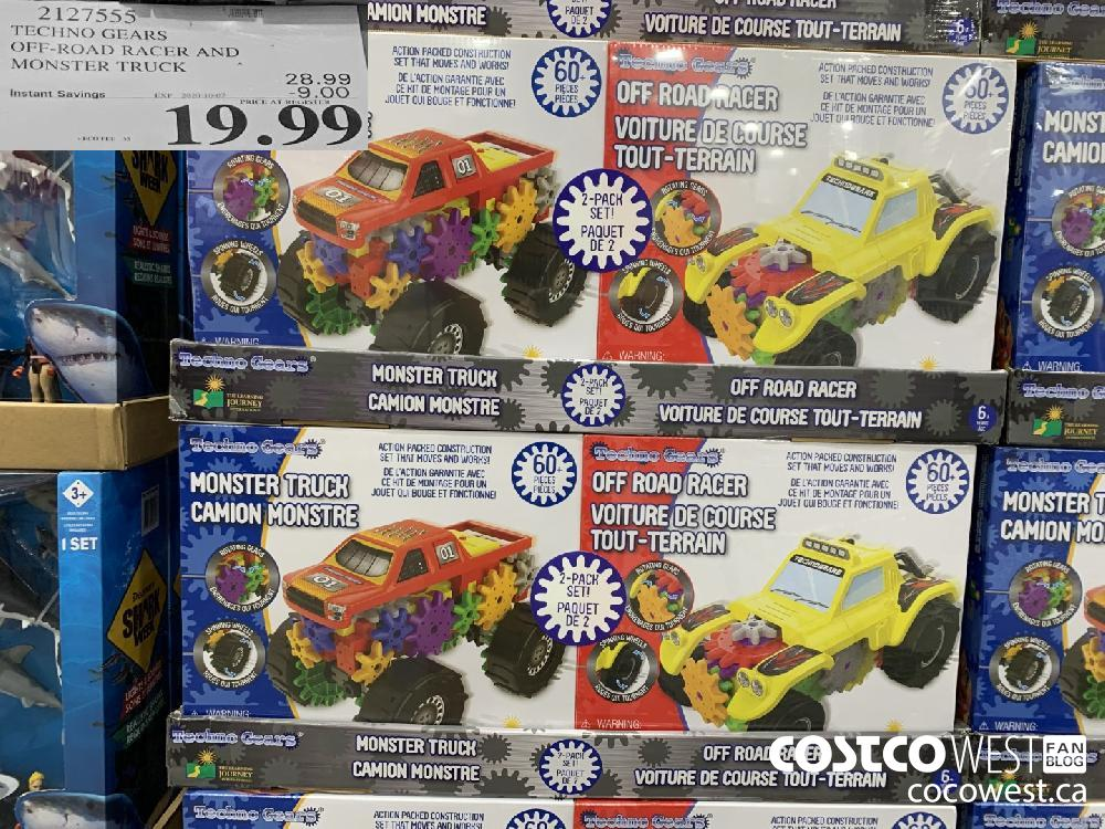 2127555 TECHNO GEARS OFF-ROAD RACER AND MONSTER TRUCK . 19.99