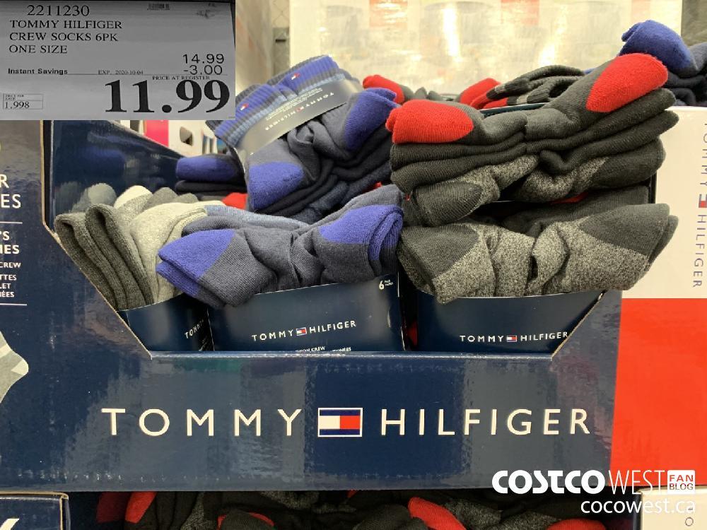 2211230 TOMMY HILFIGER CREW SOCKS 6PK ONE SIZE 11.99