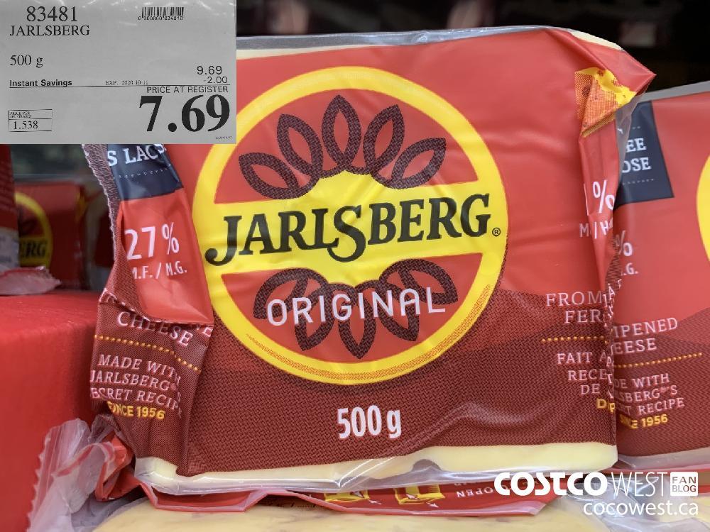 83481 JARLSBERG 500G 7.69