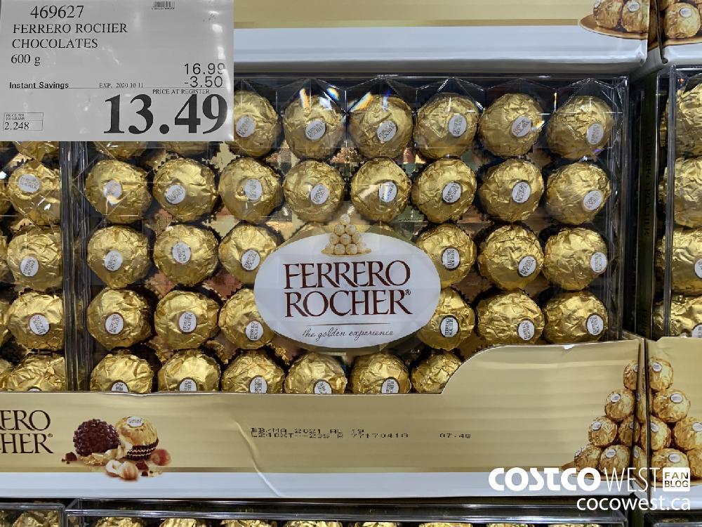 469627 FERRERO ROCHER CHOCOLATES 600 g 13.49