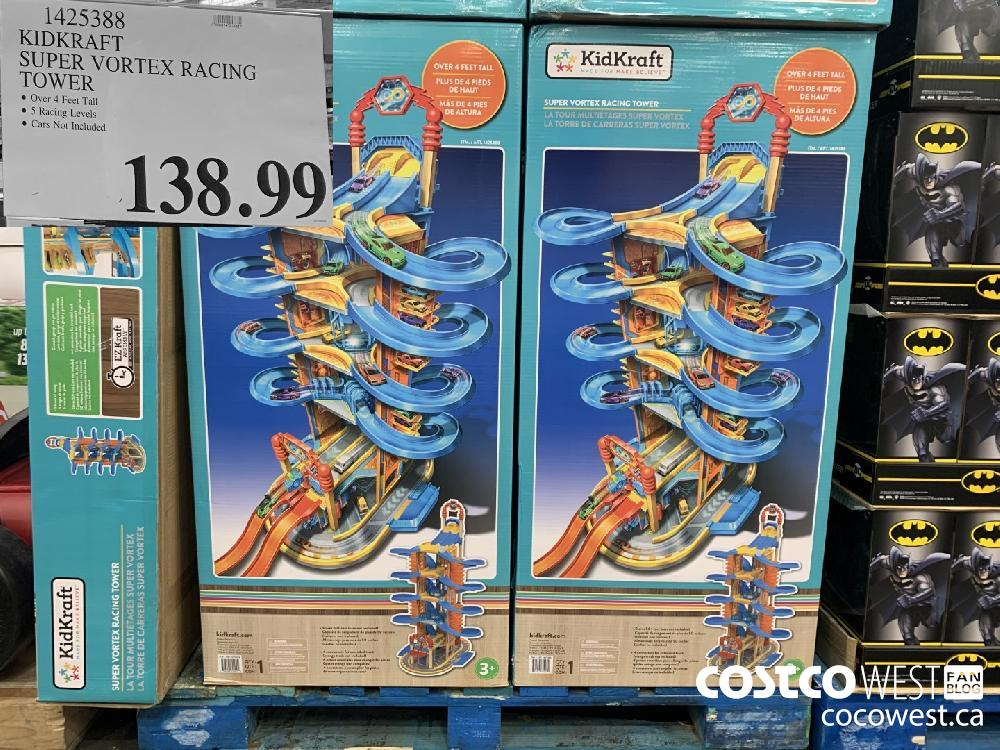 1425388 KIDKRAFT SUPER VORTEX RACING TOWER © Over 4 Feet Tall © 5 Racing Levels | © Cars Not Included 138.99
