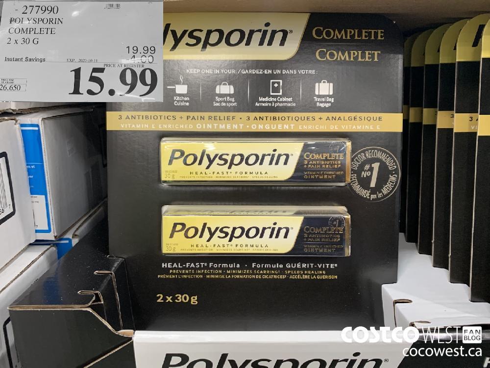 277990 POLYSPORIN COMPLETE 2x 30g 15.99