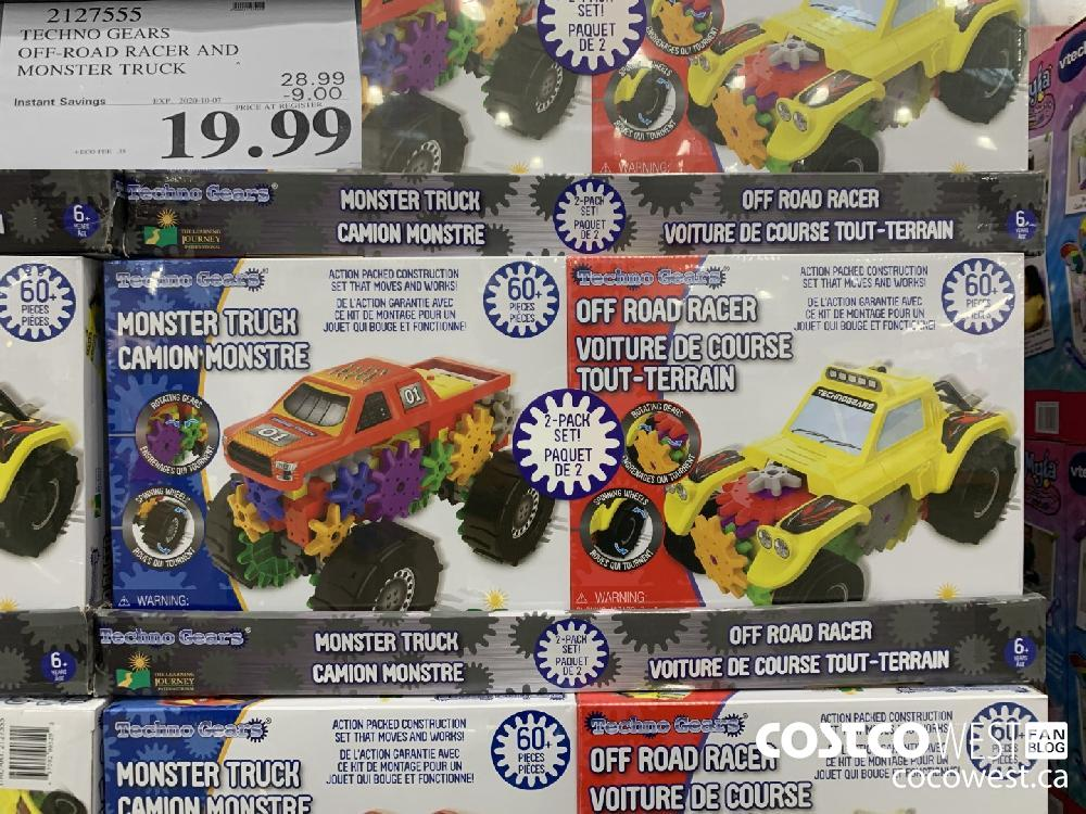 2127555 TECHNO GEARS OFF-ROAD RACER AND MONSTER TRUCK EXP 2020-10-07 19.99