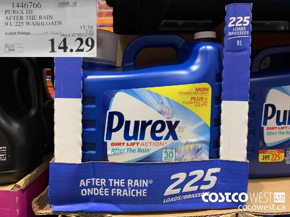 1446766 PUREX HE AFTER THE RAIN 9 L 225 WASHLOADS EXP. 2020-10-11 14.29