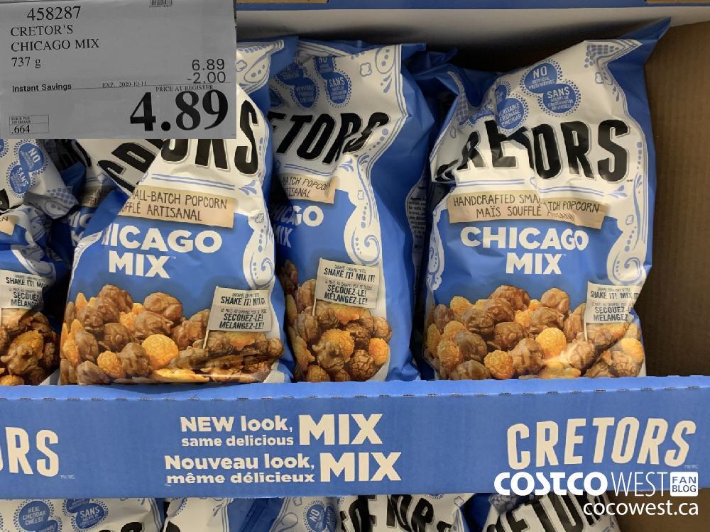 458287 CRETOR'S CHICAGO MIX 737g EXP. 2020-10-11 4.89
