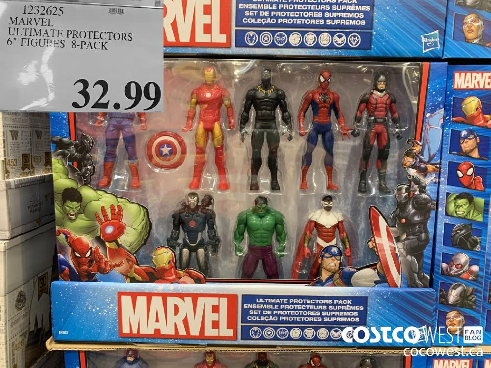"""123262 MARVEL ULTIMATE PROTECTORS 6"""" FIGUPES 8-PACK 32.99"""