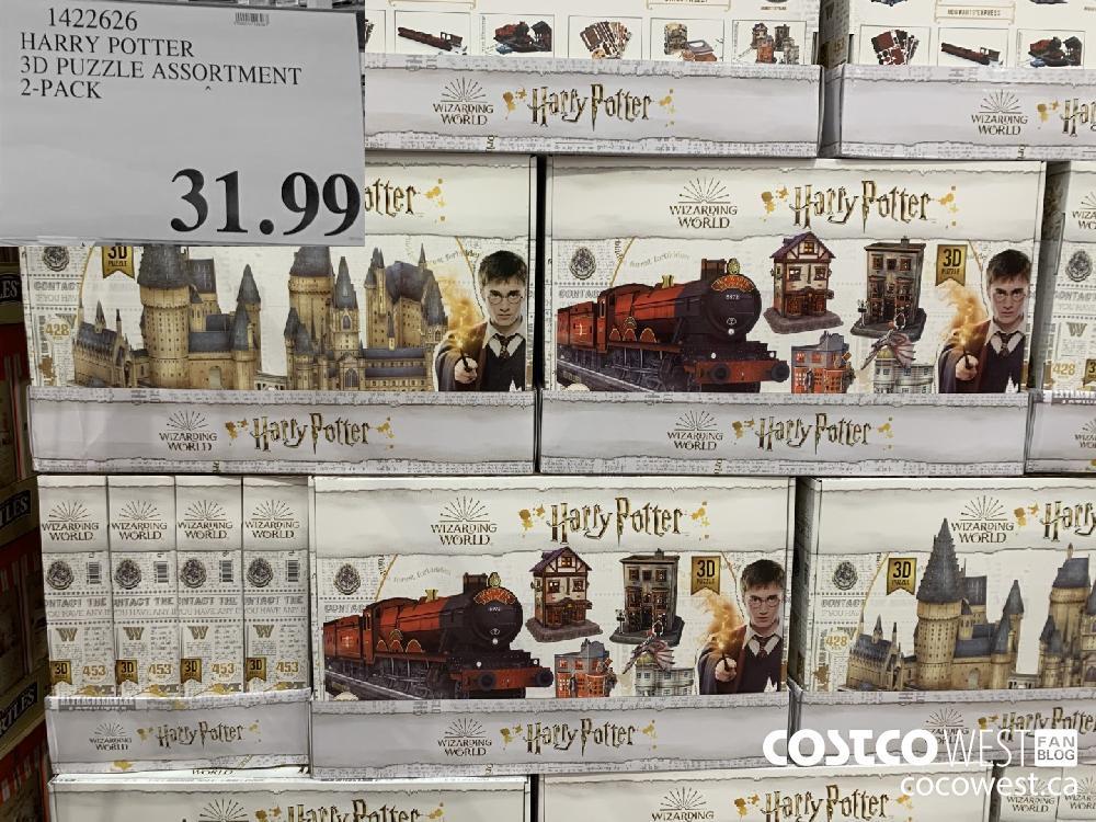 422626 HARRY POTTER 3D PUZZLE ASSORTMENT 2-PACK 31.99