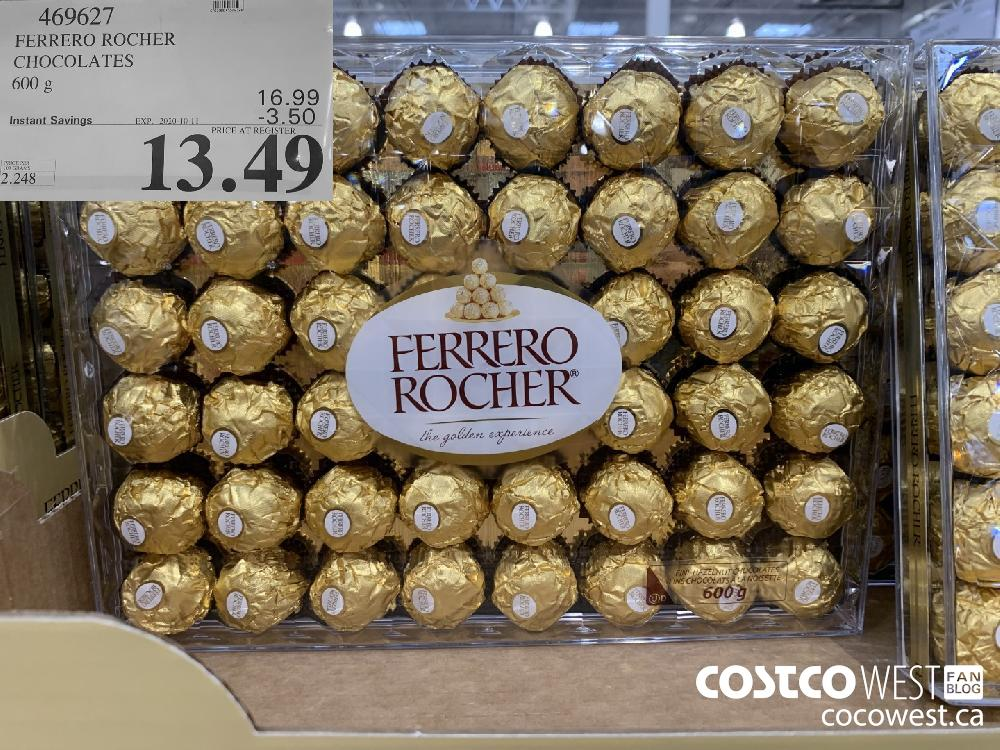469627 FERRERO ROCHER CHOCOLATES 600g EXP. 2020-10-11 13.49