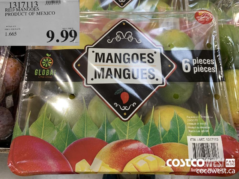 1317113 RED MANGOES PRODUCT OF MEXICO © Pack of 6 9.99