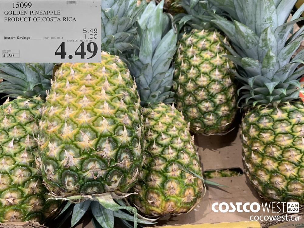 15099 GOLDEN PINEAPPLE PRODUCT OF COSTA RICA 4.49