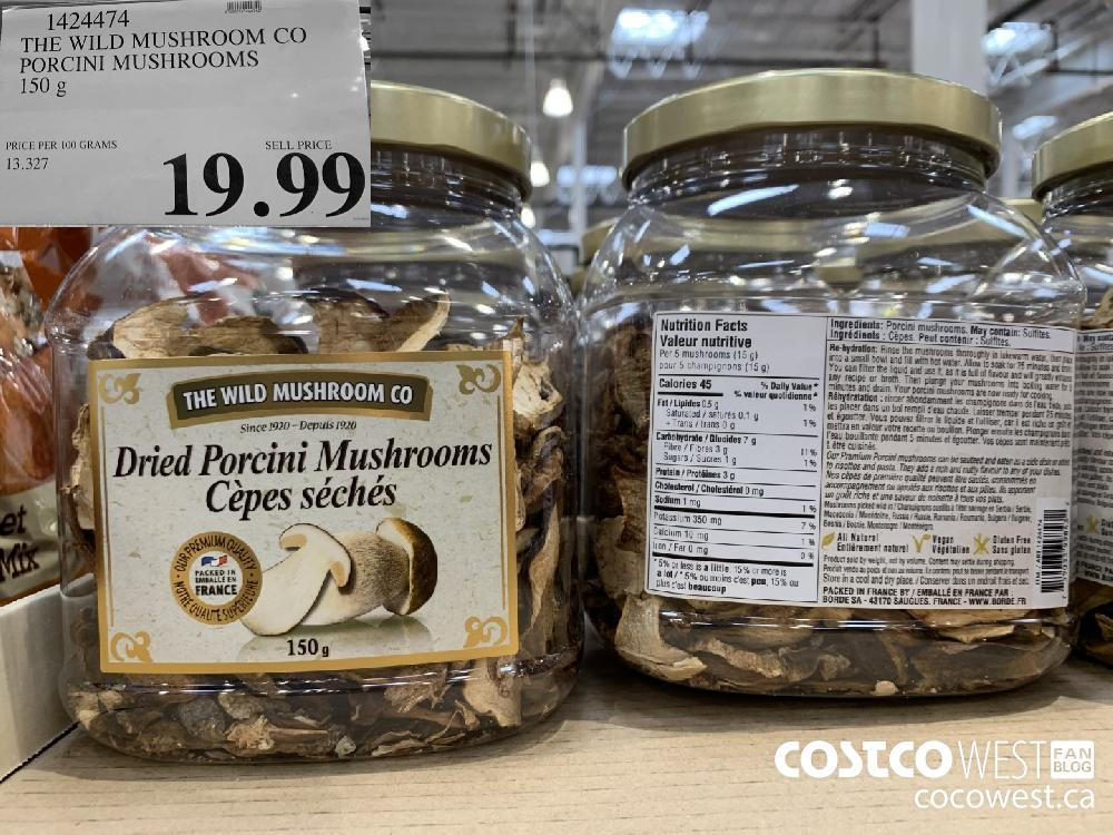 1424474 THE WILD MUSHROOM CO PORCINI MUSHROOMS 150 g 19.99