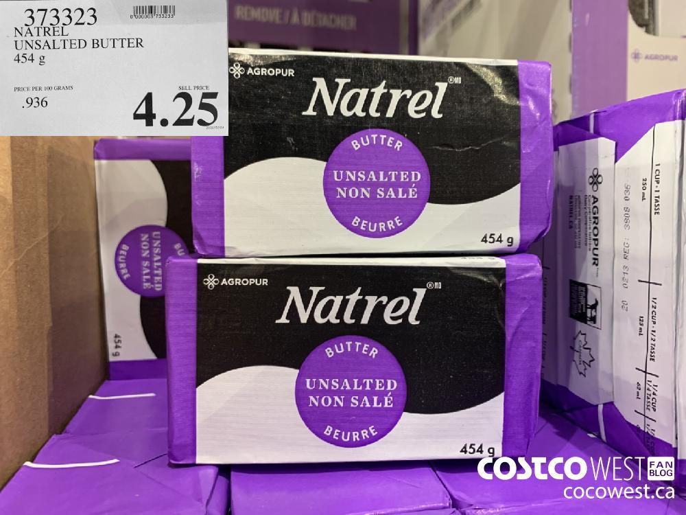 373323 NATREL UNSALTED BUTTER 454 g 4.25