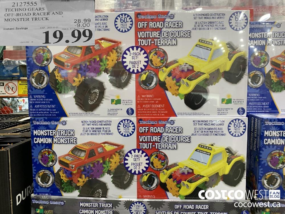 2127555 TECHNO GEARS OFF-ROAD RACER AND MONSTER TRUCK EXP. 2020-10-11 19.99