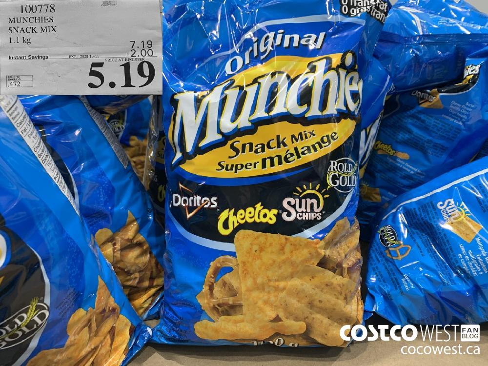 100778 MUNCHIES SNACK MIX 1.1 kg EXP. 2020-10-11 5.19