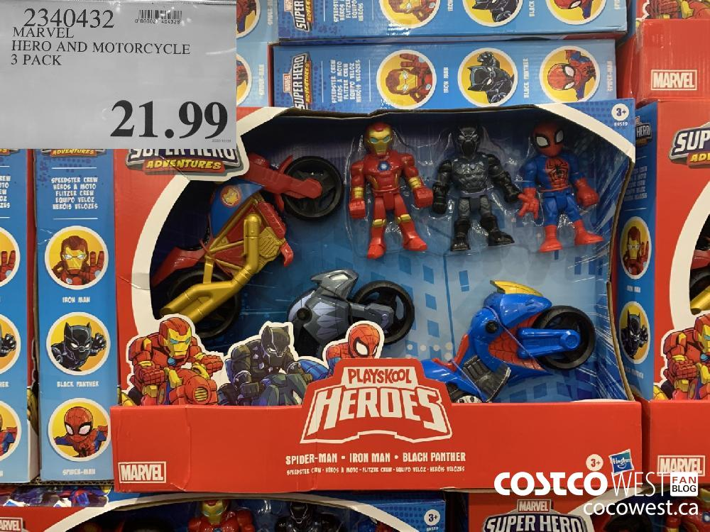 2340432 MARVEL HERO AND MOTORCYCLE 21.99