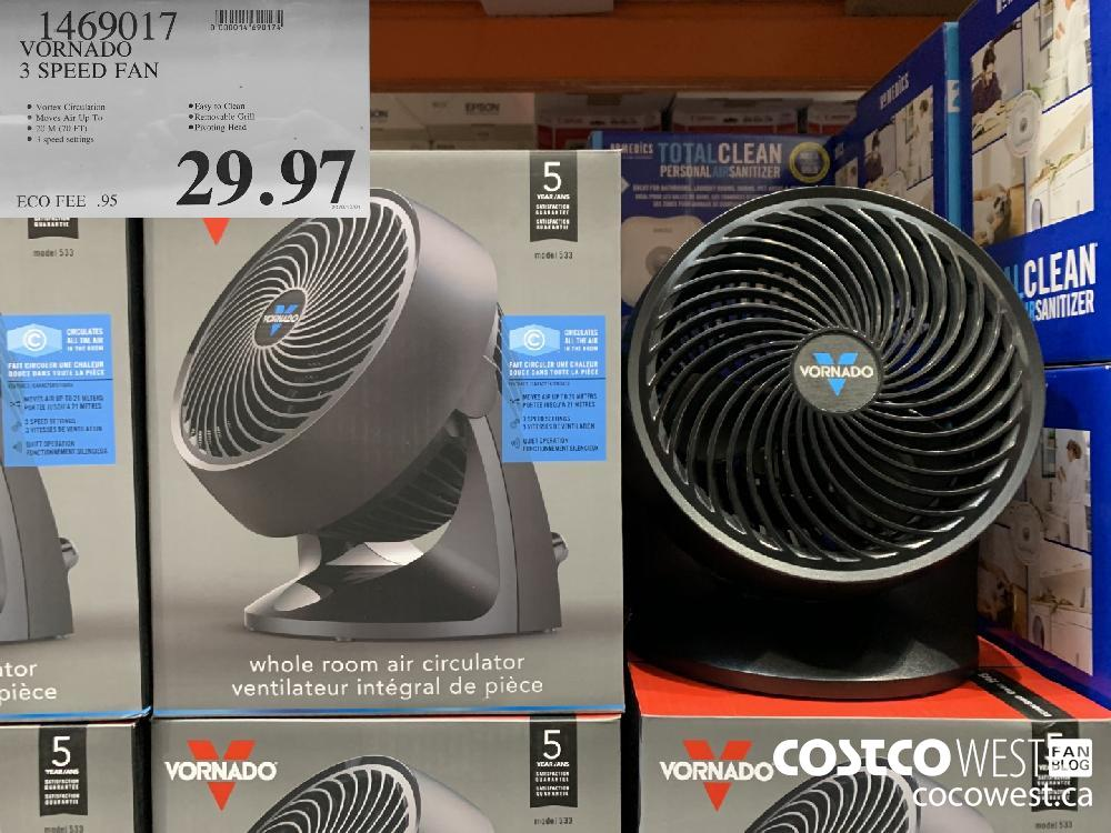 1469017 VORNADO 3 SPEED FAN 29.97