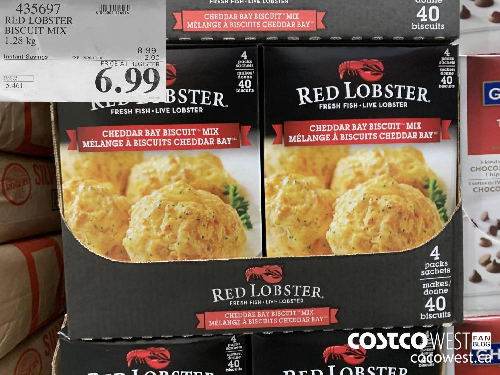 435697 RED LOBSTER BISCUIT MIX 1.28 kg EXP. 2020-10-18 6.99