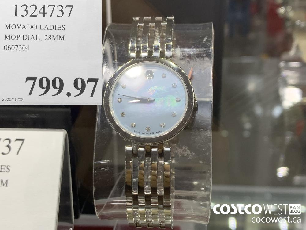 1324737 MOVADO LADIES MOP DIAL 28MM 0607304 799.97