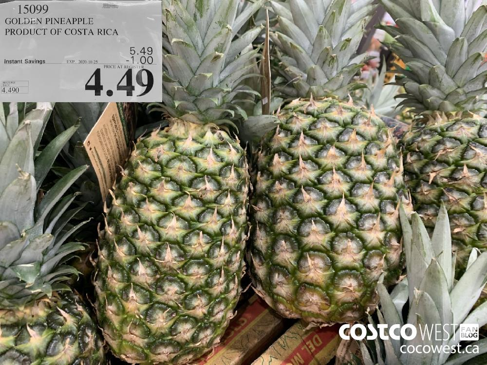 15099 GOLDEN PINEAPPLE PRODUCT OF COSTA RICA EXP. 2020-10-25 4.49