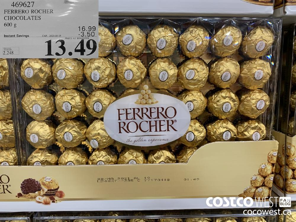 469627 FERRERO ROCHER CHOCOLATES 600 g EXP. 2020-10-18 13.49