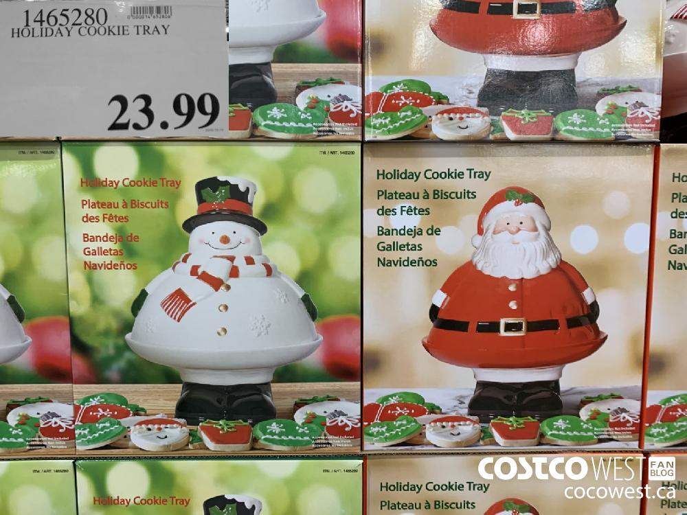 1465280 HOLIDAY COOKIE TRAY 23.99