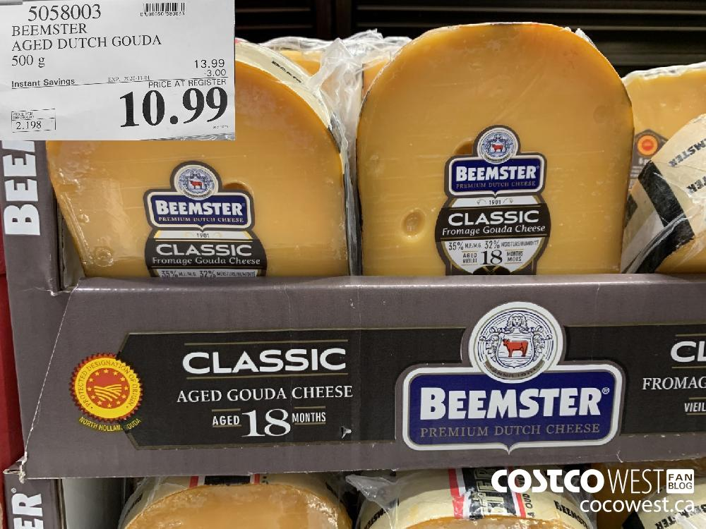 5058003 BEEMSTER AGED DUTCH GOUDA 500 g EXP. 2020-11-01 10.99