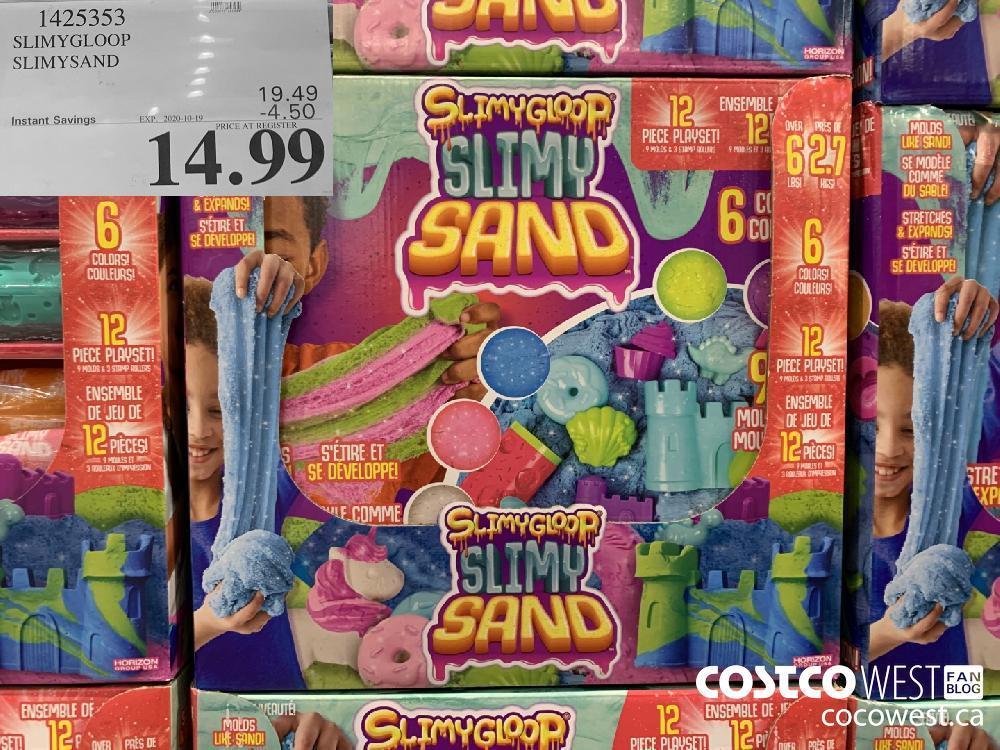1425353 SLIMYGLOOP SLIMYSAND EXP. 2020-10-19 14.99