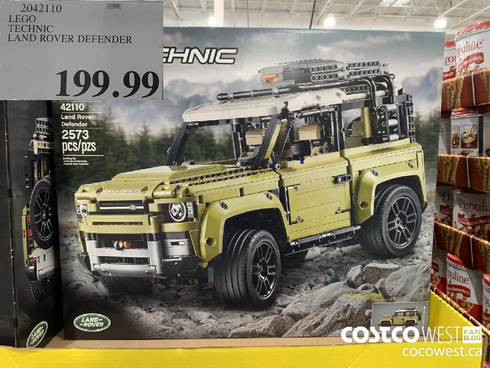 2042110 LEGO TECHNIC LAND ROVER DEFENDER $199.99