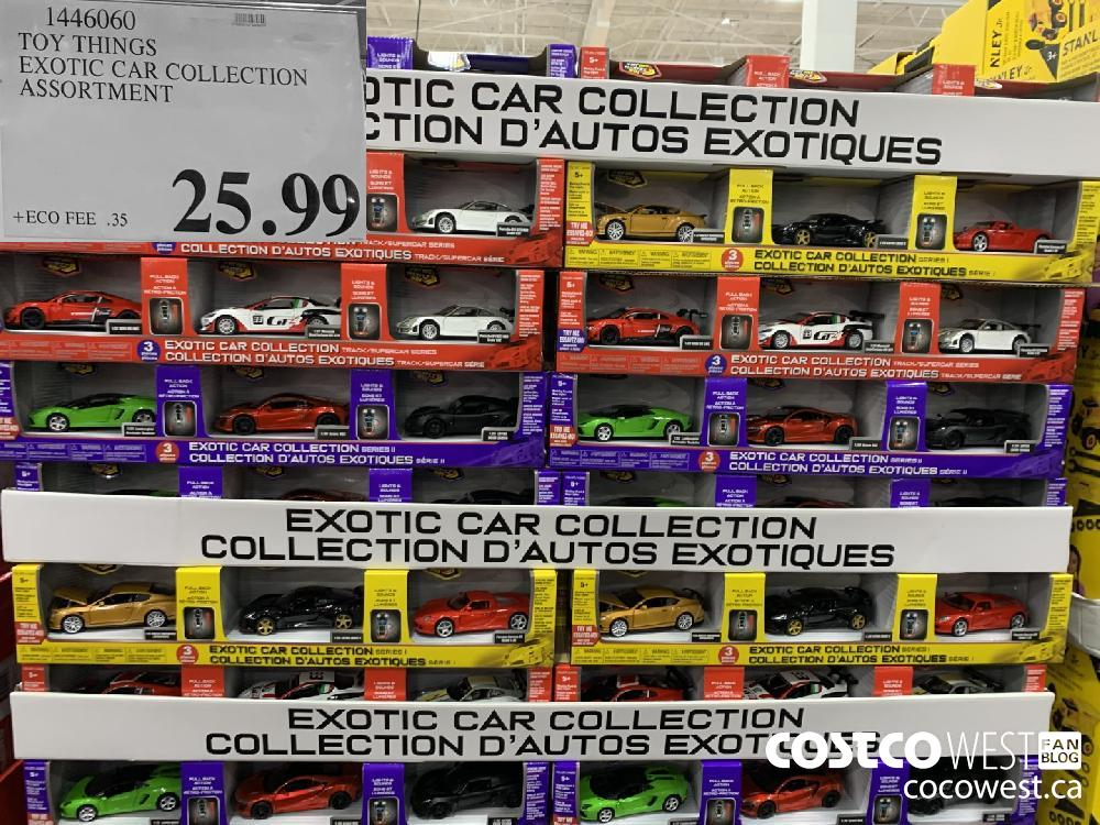 1446060 TOY THINGS EXOTIC CAR COLLECTION | ASSORTMENT $25.99